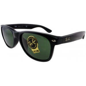 Ray Ban 0RB2132F New Wayfarer 901 Black