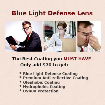 Blue Light Defense Lens